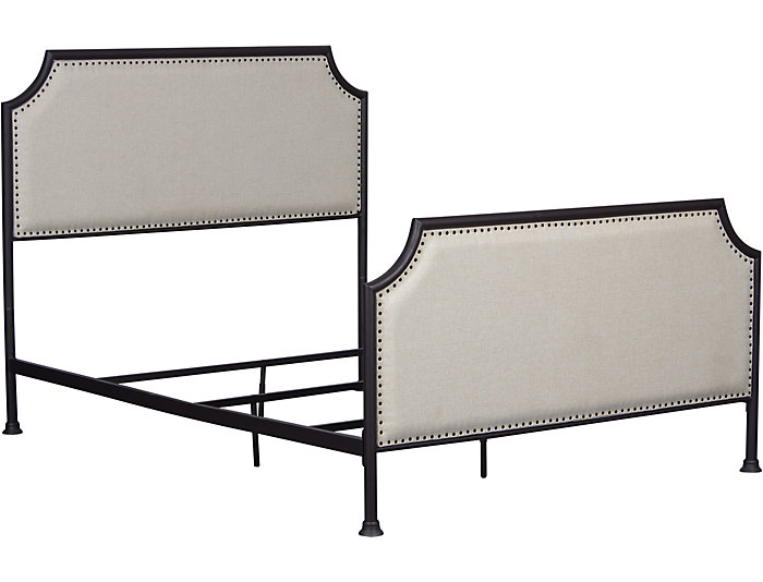 Clipped Corner Queen Bed, , large