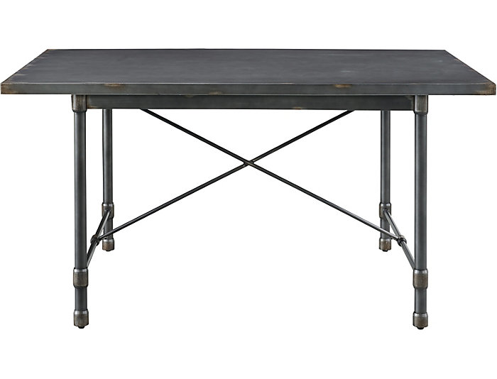 Industrial Grey Dining Table, , large
