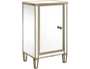 Winston Mirrored Wine Cabinet, , large