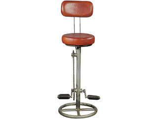 Kent Bicycle Pedal Barstool, , large