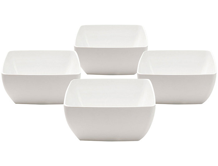 Diamond Dip Bowl  Set of 4, , large