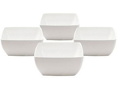 Diamond Dip Bowl  Set of 4, , large