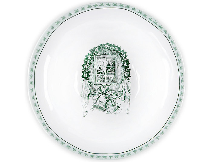 "Yuletide 12"" Serving Bowl, , large"