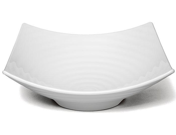 "Zen 12.5"" White Serving Bowl, , large"
