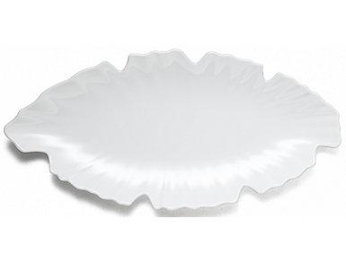 Zen White Large Platter, , large