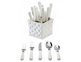 Provence 20pc Set with Caddy, , large