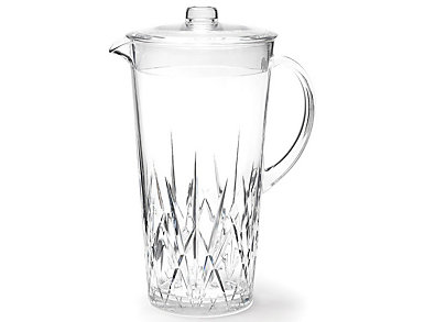 Aurora Crystal 2L Pitcher, , large