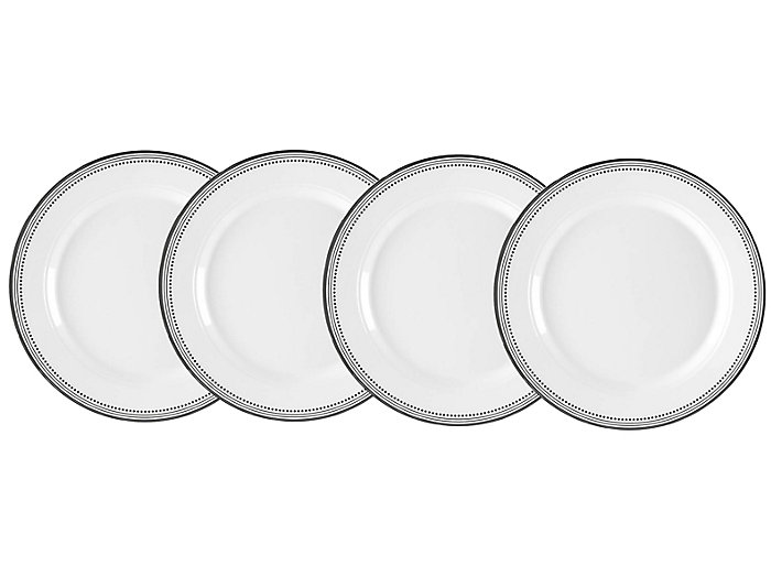 Classica B & B Plate Set of 4, , large