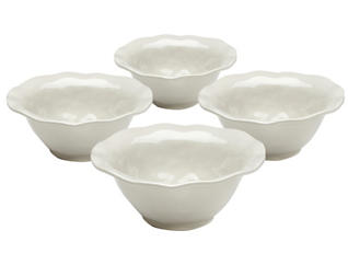 Ruffle Cereal Bowl  Set of 4, , large