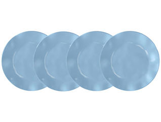 Ruffle B & B Plate  Set of 4, , large
