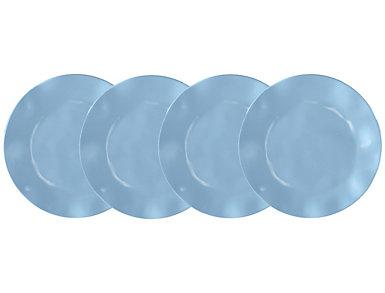 Ruffle B & B Plate  Set of 4, , large