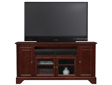"Irvington 60"" Cherry TV Stand, , large"
