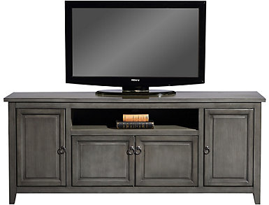 """Arden 60"""" Antique Grey TV Stand, , large"""