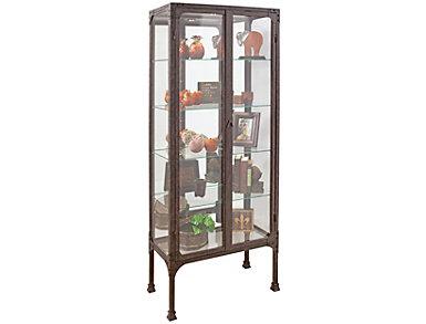 Kildair Curio Cabinet, Espresso, , large