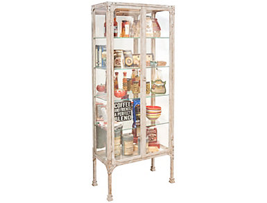 Kildair White Curio Cabinet, , large