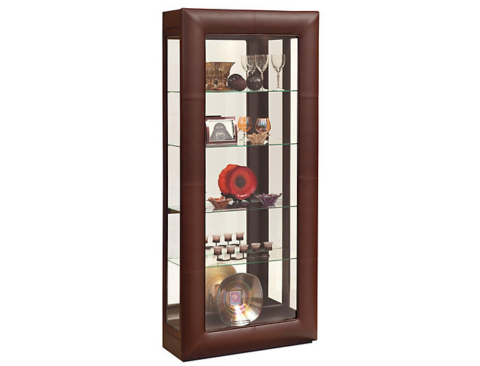 Alamance Raisin Leather Curio, , large
