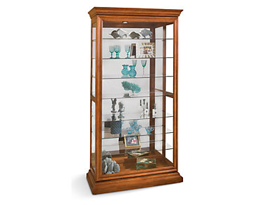 Picture Frame Oak Curio, , large