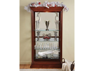 Picture Frame Curio, Cherry, , large
