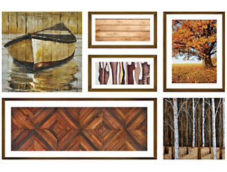 Worn Woods Collage, , large