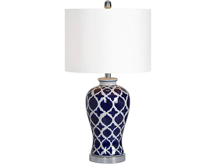 Indigo Table Lamp, , large