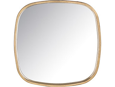 Amherst Square Mirror, , large