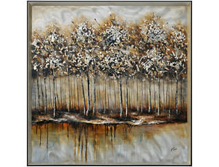 Forest Metal Wall Decor, , large