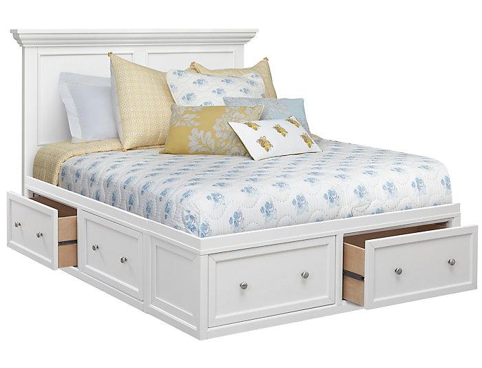 Abbott White Queen 3 Piece Bedroom Set | Art Van