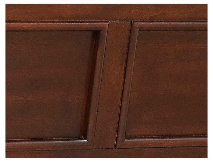Abbott Cherry Queen Panel Bed, , large