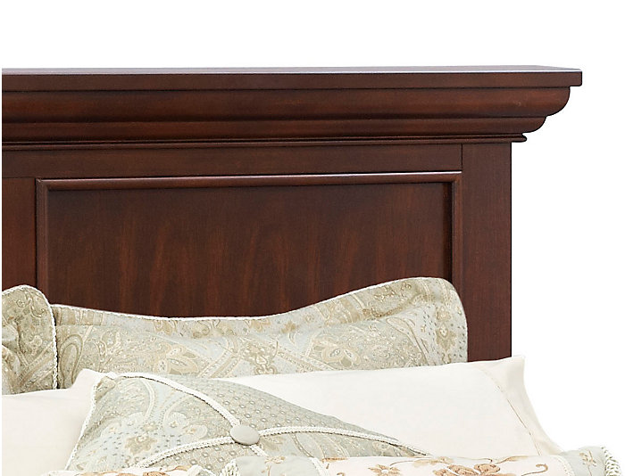 Abbott Cherry Queen Panel Bed, , large