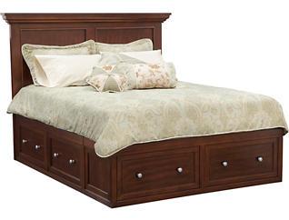 Abbott Queen Storage Bed, , large