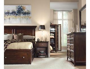 Abbott Cherry Queen Storage Bed, , large