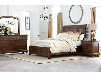 Glendale Queen Storage Bed, , large