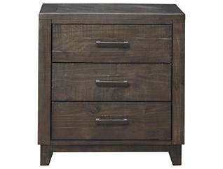 Woodland Pk 3Dr Nightstand, , large