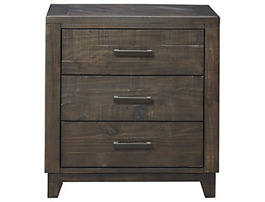 Woodland Park 3 Drawer Nightstand, , large