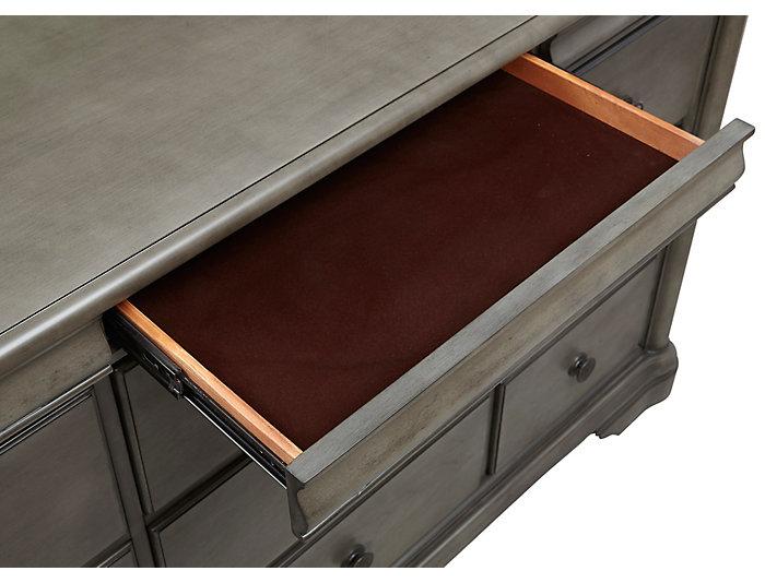 Rochelle II Grey 9Dr Dresser, , large