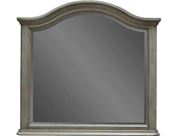 Rochelle II Grey Mirror, , large