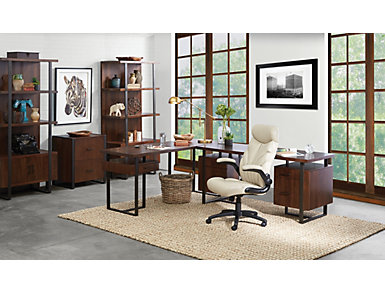"Terra Vista 66"" Walnut Desk, , large"