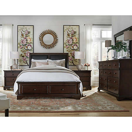 hanford collection | master bedroom | bedrooms | art van furniture