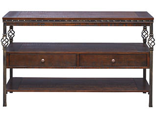 Sterling Console Table, Walnut, , large