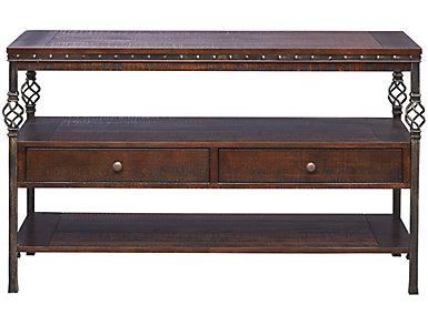 Sterling Walnut Console Table, , large