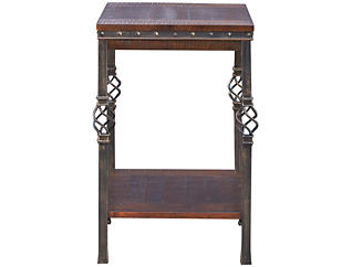 Sterling Walnut Chairside Table, , large