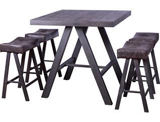 Mandy 5 Piece Pub Table Set, , large