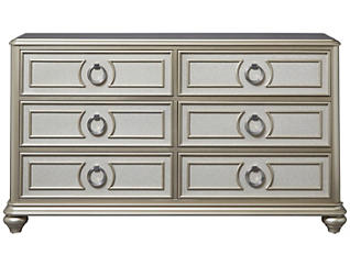 Dynasty 6 Drawer Dresser, , large