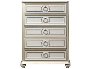 Dynasty 5 Drawer Chest, , large