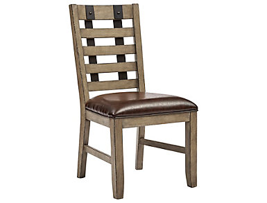 Metal Strap Side Chair, , large