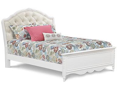 Sweetheart Full Upholstered Bed, , large