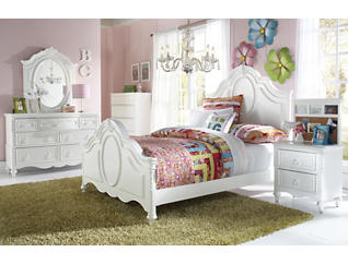 Sweetheart Twin Panel Bed, , large
