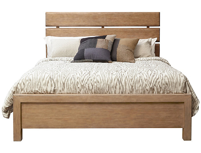 Flatbush Ave. Queen Plank Bed, , large