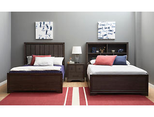 Granite Falls Full Bookcase Bed, , large