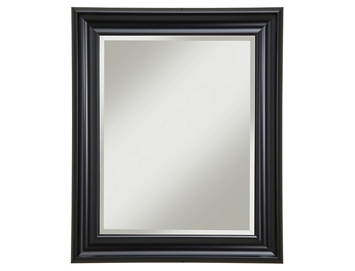 Albany Black Wall Mirror, , large